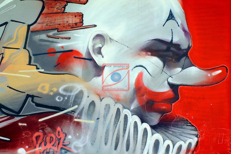 Street Art-Graffittis.<br /> Sabadell Creu Alta.