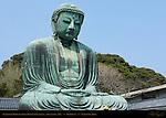 Kamakura Daibutsu, Great Buddha of Kamakura, Amida Nyorai, Kotoku-in, Kamakura, Japan
