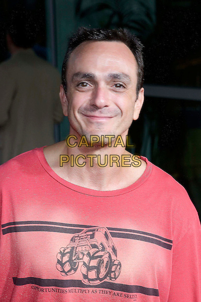 "HANK AZARIA.""The 40 Year-Old Virgin"" Premiere,.held at The Arclight Cinema,.Los Angeles, 11th August 2005.portrait headshot pink monster truck t-shirt eye contact.www.capitalpictures.com.sales@capitalpictures.com.© Capital Pictures."