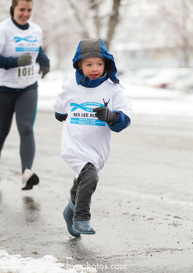 1303-40 167 Rex Lee Run<br /> <br /> Rex Lee Run in the Snow.<br /> <br /> March 23, 2013<br /> <br /> Photo by Jonathan Hardy/BYU<br /> <br /> &copy; BYU PHOTO 2013<br /> All Rights Reserved<br /> photo@byu.edu  (801)422-7322