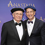 Terrence McNally and Tom Kirdahy attend Broadway Opening Night performance of 'Anastasia' at the Broadhurst Theatre on April 24, 2017 in New York City.