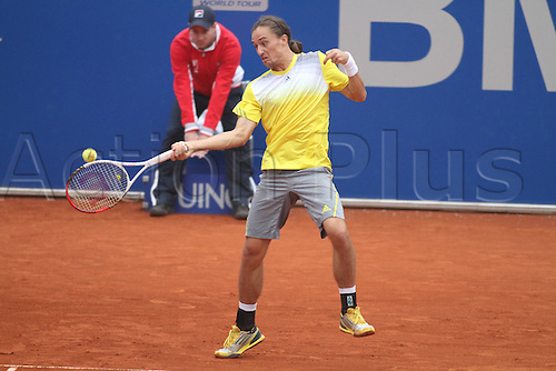 03.05.2013.  Munich, Germany.   Alexandr Dolgopolov UKR Tennis BMW Open 2013