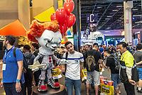 SÃO PAULO, SP, 05.12.2018 - CCXP - Público durante a Comic Con Experience na São Paulo Expo no bairro da Água Funda, na região Sul da cidade de São Paulo nesta quarta-feira, 05. (Foto: Anderson Lira/Brazil Photo Press)