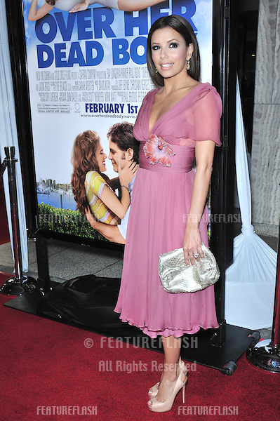 "Eva Longoria Parker at the Los Angeles premiere of her new movie ""Over Her Dead Body"" at the Arclight Theatre, Hollywood..January 29, 2008  Los Angeles, CA.Picture: Paul Smith / Featureflash"