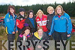 Kingdom Hot Rod: Lady drivers attending the Kingdom  Hot Rod racing at Kilflynn on Sunday in front Shelia O'Sullivan & Katie Quinn. Back : Niamh Greaney, Mary Fleming, Karena Power, Deidre Power, Tine Quinn & Jackie O'Connor.
