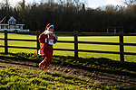 9th December 2018. The 2018 Rotary Club of Stamford Burghley Santa Fun Run held in the grounds of Burghley Park in Stamford, United Kingdom. Jonathan Clarke/JPC Images.