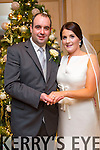 Marian O'Connor, Castleisland, daughter of Ted and Mary O'Connor, and Barry O'Connor, Leitrim, son of Dominic and Marian O'Connor were married at Our Lady of Lourdes Church Scartaglen by Canon O'Mahoney on Wednesday 31st December 2014 with a reception at Ballygarry House Hotel