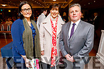 Sandra Lynch (Garveys Supervalu), Cllr Norma Foley and Tim Moynihan attending the Tralee Autism Friendly Public Town meeting in the Rose Hotel on Thursday.