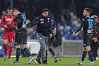 Gennaro Gattuso coach of Napoli dejection<br /> Napoli 14-12-2019 Stadio San Paolo <br /> Football Serie A 2019/2020 <br /> SSC Napoli - Parma Calcio 1913<br /> Photo Cesare Purini / Insidefoto