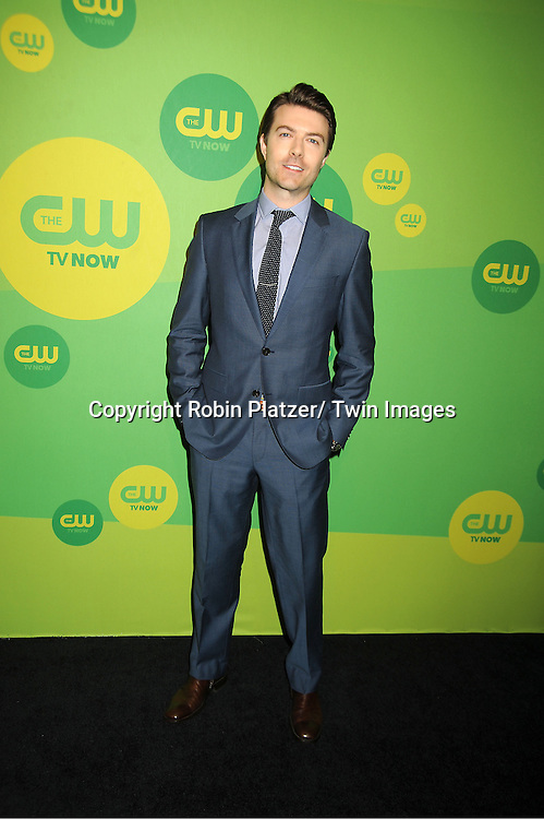 """Noah Bean of """" Nikita"""" attends the CW Network's 2013 Upfront Presentation on May 16, 2013 at the London Hotel in New York City."""