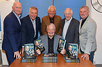 """Archie Knox launches his book """"The School of Hard Knox"""" with John Brown, Ally McCoist, Walter Smith, Craig Brown and Ian Durrant"""