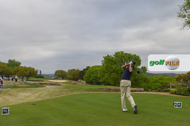 Matt Kuchar (USA) watches his tee shot on 6 during day 4 of the WGC Dell Match Play, at the Austin Country Club, Austin, Texas, USA. 3/30/2019.<br /> Picture: Golffile | Ken Murray<br /> <br /> <br /> All photo usage must carry mandatory copyright credit (© Golffile | Ken Murray)