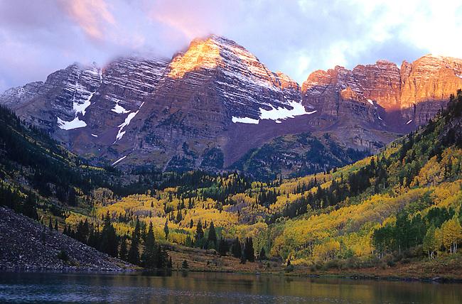 Maroon Bells, Snowmass Wilderness Area, Colorado