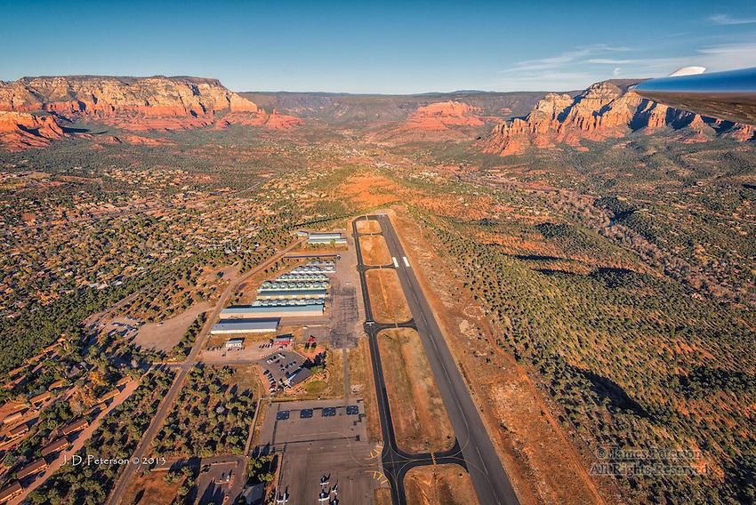 Above Sedona Airport, Looking North, Arizona
