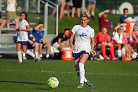 Kansas City, MO - Sunday August 28, 2016: Kassey Kallman during a regular season National Women's Soccer League (NWSL) match between FC Kansas City and the Boston Breakers at Swope Soccer Village.