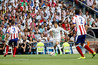 Cristiano  of Real Madrid during La Liga match between Real Madrid and Atletico de Madrid at Santiago Bernabeu stadium in Madrid, Spain. September 13, 2014. (ALTERPHOTOS/Caro Marin)