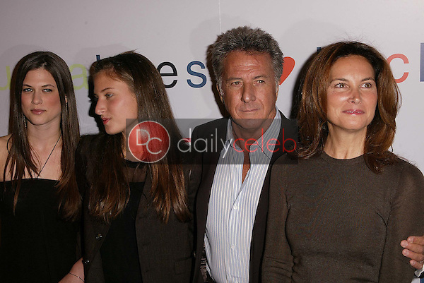 Dustin Hoffman and Family