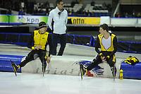 SCHAATSEN: HEERENVEEN: IJsstadion Thialf, 28-12-2014, NK Allround, Wouter olde Heuvel, Sven Kramer, ©foto Martin de Jong