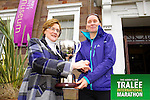 Ann Marie Holland who was the first lady home in the Kerry's Eye Tralee International Marathon on Sunday 16th March 2014.