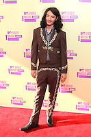 LOS ANGELES, CA - SEPTEMBER 06: Ezra Miller at the 2012 MTV Video Music Awards at The Staples Center on September 6, 2012 in Los Angeles, California. &copy;&nbsp;mpi28/MediaPunch inc. /NortePhoto.com<br />