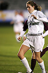 Duke's Kelly Hathorn on Wednesday, November 2nd, 2005 at SAS Stadium in Cary, North Carolina. The Duke University Blue Devils defeated the Boston College Eagles 2-0 during their Atlantic Coast Conference Tournament Quarterfinal game.