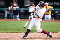 Brock Chaffin (25) of the Missouri State Bears during a game vs. the Western Illinois Leathernecks at Hammons Field in Springfield, Missouri;  March 20, 2011.  Photo By David Welker/Four Seam Images