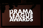 Stage during the 2018 Drama League Awards at the Marriot Marquis Times Square on May 18, 2018 in New York City.