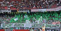 Fussball 1. Bundesliga   Saison  2012/2013   34. Spieltag   1. FC Nuernberg - SV Werder Bremen       18.05.2013 Gaestefanblock im Nuernberger Stadion, SV Werder Bremen Fans