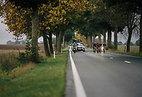 breakaway group<br /> <br /> 2018 Binche - Chimay - Binche / Memorial Frank Vandenbroucke (1.1 Europe Tour)<br /> 1 Day Race: Binche to Binche (197km)