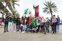 Jacksonville, FL - Thursday, April 05, 2018: Fan HQ prior to a friendly match between USA and Mexico at EverBank Stadium.