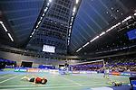 Kenichi Tago (JPN), ee Chong Wei (MAS), SEPTEMBER 22, 2013 - Badminton : Yonex Open Japan 2013 Men's Singles final at Tokyo Metropolitan Gymnasium, Tokyo, Japan. (Photo by Yusuke Nakanishi/AFLO SPORT) [1090]