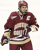 Peter Harrold - The Boston University Terriers defeated the Boston College Eagles 2-1 in overtime in the March 18, 2006 Hockey East Final at the TD Banknorth Garden in Boston, MA.