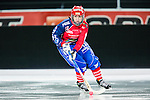 Solna 2014-03-15 Bandy SM-final Damer Kareby IS - AIK  :  <br /> Karebys Johanna Gustafsson <br /> (Foto: Kenta J&ouml;nsson) Nyckelord:  SM SM-final final dam damer Kareby AIK portr&auml;tt portrait