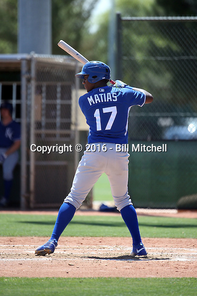 Seuly Matias - Kansas City Royals 2016 extended spring training (Bill Mitchell)