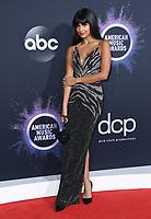 24 November 2019 - Los Angeles, California - Jameela Jamil. 2019 American Music Awards - Arrivals held at Microsoft Theater. Photo Credit: Birdie Thompson/AdMedia