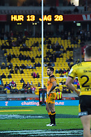Jaguares captain Jeronimo De La Fuente during the Super Rugby match between the Hurricanes and Jaguares at Westpac Stadium in Wellington, New Zealand on Friday, 17 May 2019. Photo: Dave Lintott / lintottphoto.co.nz