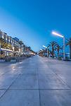 Croatia, Split, Riva at Dawn