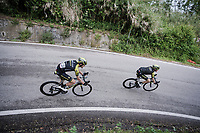 Brent Bookwalter (USA/Mitchelton-Scott) & Luke Durbridge (AUS/Mitchelton-Scott)<br /> <br /> Stage 8: Tortoreto Lido to Pesaro (239km)<br /> 102nd Giro d'Italia 2019<br /> <br /> ©kramon
