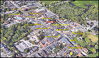 BNPS.co.uk (01202 558833)<br /> Pic:  Google<br /> <br /> Google Maps image of the High Street in Christchurch showing the abundance of coffee outlets, with the location of the 15th outlet marked in red.<br /> <br /> A retirement town that is overspilling with coffee shops is to get its 15th after officials lost their bid to put a lid on them.<br /> <br /> Councillors in Christchurch, Dorset, refused a Coffee#1 permission to take over an empty shop because the town had too many cafes.<br /> <br /> But the national chain appealed the decision and have won their case.<br /> <br /> It means there will now be 15 coffee shops in a 500 metre stretch of the High Street - or one every 33 metres.