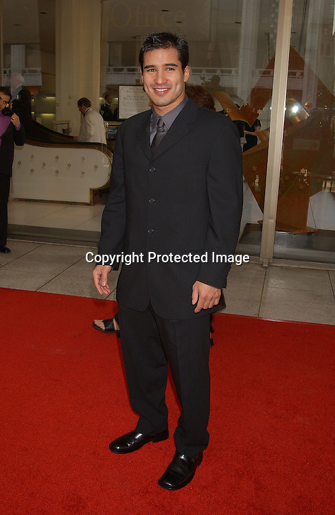 "Mario Lopez                               ..at the 31st Annual ""FiFi"" Awards on June 9, 2003 at ..Avery Fisher Hall .                                                           Photo by Robin Platzer, Twin Images"