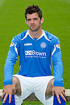 St Johnstone FC...Season 2011-12.Cillian Sheridan.Picture by Graeme Hart..Copyright Perthshire Picture Agency.Tel: 01738 623350  Mobile: 07990 594431