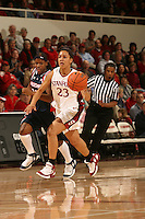 19 January 2006: Rosalyn Gold-Onwude during Stanford's win over the University of California Golden Bears at Maples Pavilion in Stanford, CA.