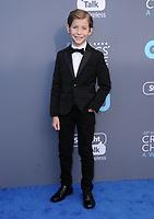 11 January 2018 - Santa Monica, California - Jacob Tremblay. 23rd Annual Critics' Choice Awards held at Barker Hangar. <br /> CAP/ADM/BT<br /> &copy;BT/ADM/Capital Pictures