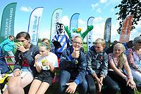 FIERLJEPPEN/POLSTOKVERSPRINGEN: BUITENPOST: 02-09-2017, Nederlandskampioenschap Jeugd, ©foto Martin de Jong