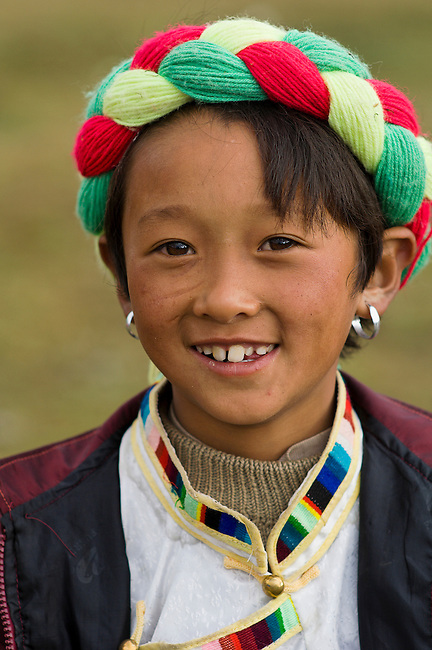 Tibetan Minority of Yunnan's Zhongdian District maintain their traditions of farming and religion.