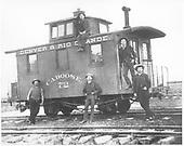 Short caboose #72.<br /> D&amp;RG    ca 1880