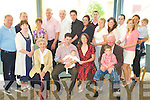 Celebrations - Kieran & Aisling O'Connor from Alderwood Rd., Tralee, seated centre having a wonderful time with friends and family at the Christening party for their son Rhys in The Ballyroe Heights Hotel following the ceremony in St. John's Church Tralee on Sunday..