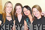 Festivity: Enjoying the last of the celebrations on Womens Christmas in Hartys Bar, Tralee, on Saturday evening were Samantha Keane, Lorraine Horan, Trisha McMahon and Ashling McMahon, all from Oakpark..