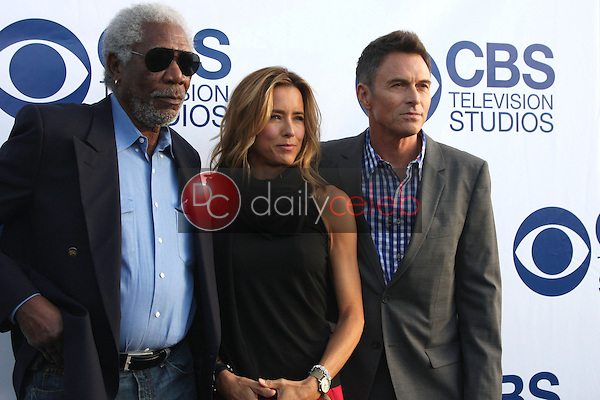 Morgan Freeman, Tea Leoni, Timothy Daly<br />