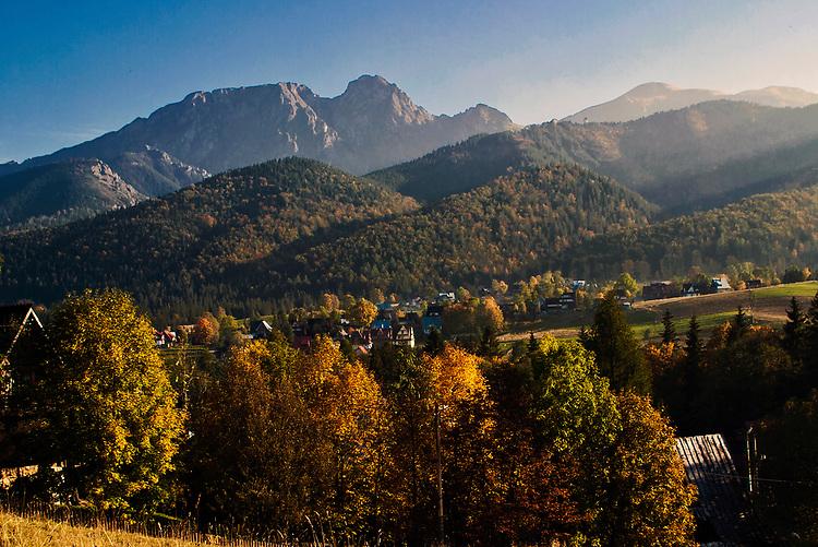 Jesienny widok na Giewont